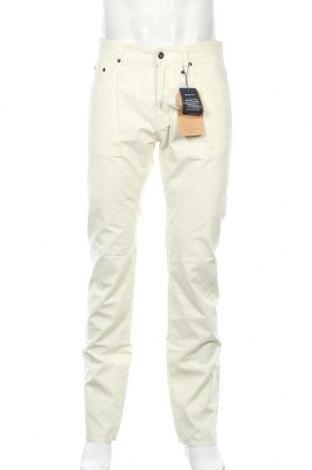 Ανδρικό παντελόνι Gant, Μέγεθος M, Χρώμα Εκρού, Βαμβάκι, Τιμή 64,43€