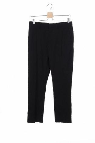 Pantaloni de bărbați H&M, Mărime S, Culoare Negru, 75% poliester, 25% viscoză, Preț 7,35 Lei