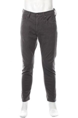 Ανδρικό παντελόνι Levi's, Μέγεθος M, Χρώμα Γκρί, 82% βαμβάκι, 12% ελαστάνη, 6% πολυεστέρας, Τιμή 28,39€