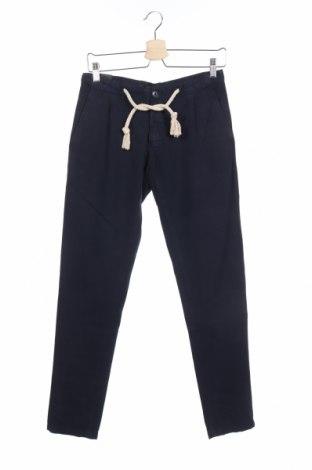 Ανδρικό παντελόνι Liu Jo, Μέγεθος XS, Χρώμα Μπλέ, 80% βαμβάκι, 20% λινό, Τιμή 7,92€
