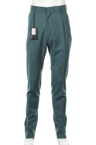 Мъжки панталон Liu Jo, Размер L, Цвят Зелен, Вълна, Цена 47,32лв.