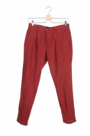 Pantaloni de bărbați Liu Jo, Mărime S, Culoare Roșu, 51% bumbac, 49% in, Preț 293,59 Lei
