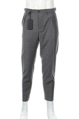 Ανδρικό παντελόνι Liu Jo, Μέγεθος XL, Χρώμα Γκρί, 53% πολυεστέρας, 43% μαλλί, 4% ελαστάνη, Τιμή 14,81€