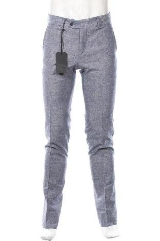 Ανδρικό παντελόνι Liu Jo, Μέγεθος M, Χρώμα Μπλέ, 55% βισκόζη, 45% λινό, Τιμή 13,07€