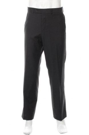 Ανδρικό παντελόνι Sarar, Μέγεθος M, Χρώμα Μαύρο, 60% μαλλί, 40% πολυεστέρας, Τιμή 9,64€