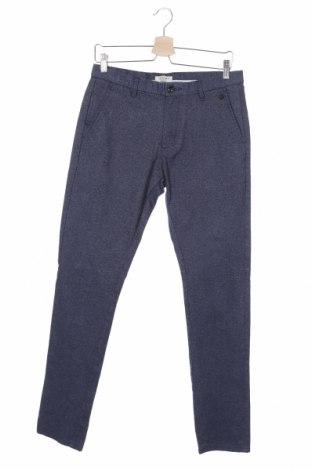 Pánské kalhoty  Selected Homme, Velikost S, Barva Modrá, 64% bavlna, 35% polyester, 1% elastan, Cena  166,00Kč