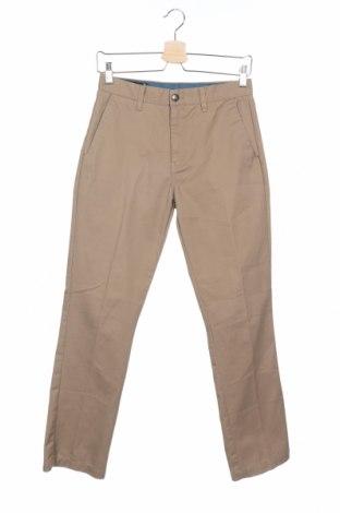 Ανδρικό παντελόνι Volcom, Μέγεθος XS, Χρώμα  Μπέζ, 65% πολυεστέρας, 35% βαμβάκι, Τιμή 7,60€