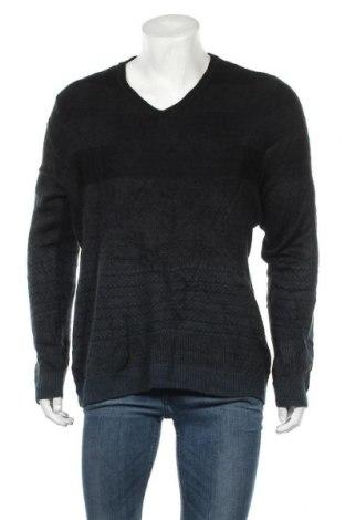 Мъжки пуловер Alfani, Размер L, Цвят Черен, Акрил, Цена 10,08лв.