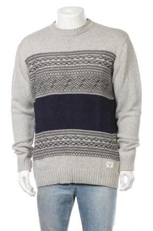 Мъжки пуловер Billabong, Размер L, Цвят Сив, 51% акрил, 32% полиамид, 12% вълна, 5% кашмир, Цена 10,22лв.