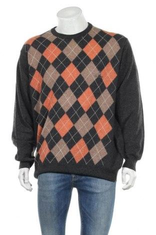 Ανδρικό πουλόβερ Burlington, Μέγεθος L, Χρώμα Πολύχρωμο, Μαλλί, Τιμή 15,20€