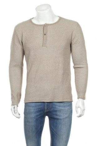 Ανδρικό πουλόβερ Driver, Μέγεθος S, Χρώμα  Μπέζ, 55% βαμβάκι, 45%ακρυλικό, Τιμή 14,19€