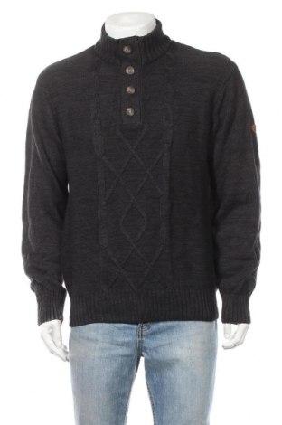 Ανδρικό πουλόβερ Gin Tonic, Μέγεθος L, Χρώμα Μπλέ, Βαμβάκι, Τιμή 16,05€