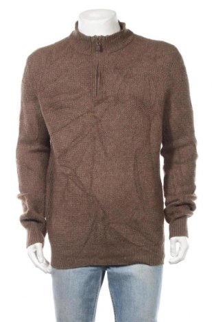 Ανδρικό πουλόβερ Joseph Abboud, Μέγεθος L, Χρώμα Καφέ, 50% μαλλί, 50% πολυαμίδη, Τιμή 14,69€
