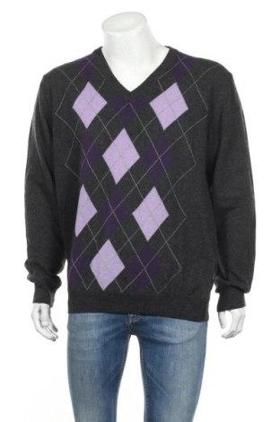 Ανδρικό πουλόβερ Kitaro, Μέγεθος XL, Χρώμα Γκρί, 80% μαλλί, 20% πολυαμίδη, Τιμή 8,95€