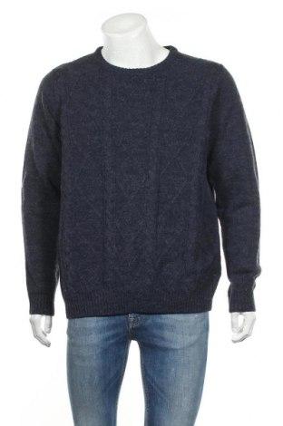 Ανδρικό πουλόβερ Livergy, Μέγεθος L, Χρώμα Μπλέ, 85% πολυακρυλικό, 15% μαλλί, Τιμή 17,90€