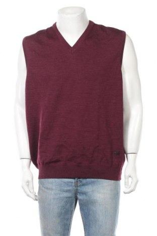Ανδρικό πουλόβερ Maerz Muenchen, Μέγεθος XXL, Χρώμα Κόκκινο, Μαλλί, Τιμή 25,33€