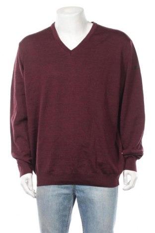 Ανδρικό πουλόβερ Maerz Muenchen, Μέγεθος XXL, Χρώμα Κόκκινο, Μαλλί, Τιμή 21,95€