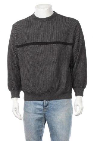Ανδρικό πουλόβερ Monte Carlo, Μέγεθος L, Χρώμα Γκρί, 45% μερινό, 45%ακρυλικό, 10% πολυαμίδη, Τιμή 12,73€
