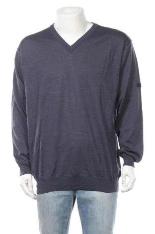 Ανδρικό πουλόβερ Monte Carlo, Μέγεθος XXL, Χρώμα Μπλέ, 50% μαλλί, 50%ακρυλικό, Τιμή 16,37€