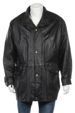 Ανδρικό δερμάτινο μπουφάν Wilsons Leather, Μέγεθος M, Χρώμα Μαύρο, Γνήσιο δέρμα, Τιμή 20,36€