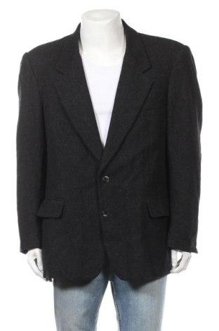Мъжко сако, Размер L, Цвят Сив, 60% вълна, 20% полиестер, 20% акрил, Цена 6,83лв.