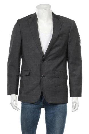Мъжко сако Angelo Litrico, Размер S, Цвят Сив, Цена 3,09лв.