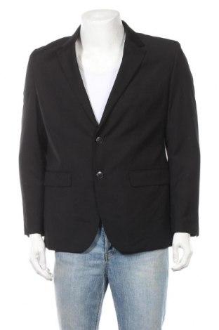 Мъжко сако Angelo Litrico, Размер M, Цвят Черен, 80% полиестер, 20% вискоза, Цена 3,00лв.