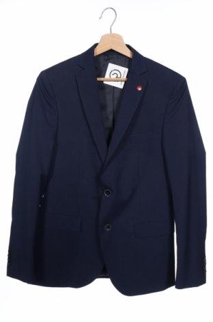 Pánské sako  Liu Jo, Velikost S, Barva Modrá, 90% polyester, 8% viskóza, 2% elastan, Cena  540,00Kč