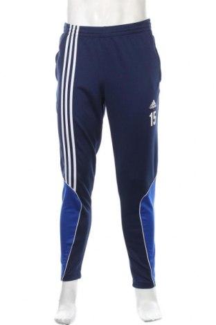 Ανδρικό αθλητικό παντελόνι Adidas, Μέγεθος S, Χρώμα Μπλέ, Πολυεστέρας, Τιμή 18,19€