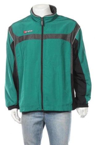 Ανδρικό αθλητικό μπουφάν Erima, Μέγεθος XL, Χρώμα Πράσινο, Πολυεστέρας, Τιμή 25,46€