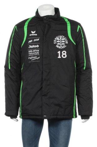 Ανδρικό αθλητικό μπουφάν Erima, Μέγεθος L, Χρώμα Μαύρο, Πολυεστέρας, Τιμή 21,82€