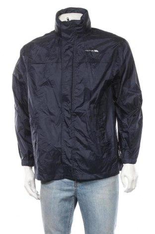 Ανδρικό αθλητικό μπουφάν Trespass, Μέγεθος S, Χρώμα Μπλέ, Πολυαμίδη, Τιμή 24,32€