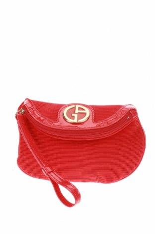 Несесер Giorgio Armani, Цвят Червен, Текстил, Цена 37,80лв.