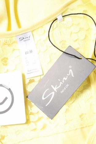 Пижама Skiny, Размер M, Цвят Жълт, Памук, полиестер, Цена 10,80лв.