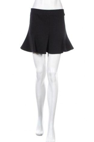 Пола Zara, Размер M, Цвят Черен, 33% полиестер, 32% памук, 32% полиамид, 3% еластан, Цена 5,88лв.