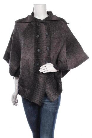 Πόντσο KappAhl, Μέγεθος M, Χρώμα Γκρί, 85%ακρυλικό, 15% μαλλί, Τιμή 15,46€