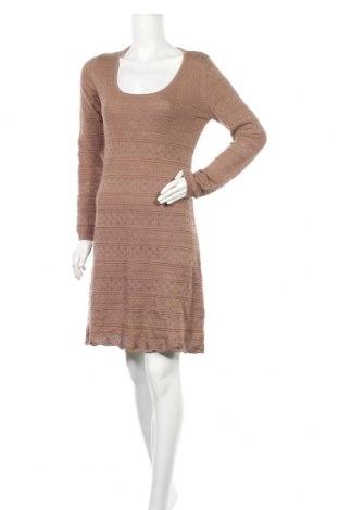 Φόρεμα Aniston, Μέγεθος M, Χρώμα Καφέ, 50% πολυακρυλικό, 50% βαμβάκι, Τιμή 24,68€