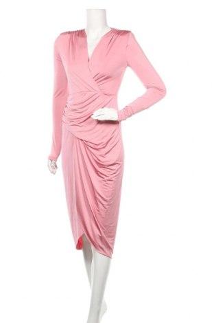 Φόρεμα Denny Rose, Μέγεθος M, Χρώμα Ρόζ , 94% πολυεστέρας, 6% ελαστάνη, Τιμή 50,46€