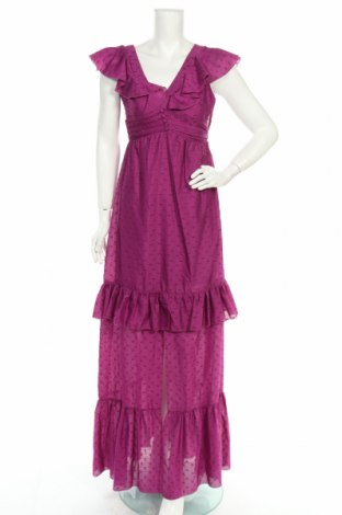 Φόρεμα Denny Rose, Μέγεθος S, Χρώμα Βιολετί, 95% πολυεστέρας, 5% μεταλλικά νήματα, Τιμή 67,76€