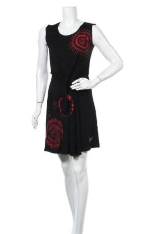 Φόρεμα Desigual, Μέγεθος XS, Χρώμα Μαύρο, 95% βισκόζη, 5% ελαστάνη, Τιμή 18,40€