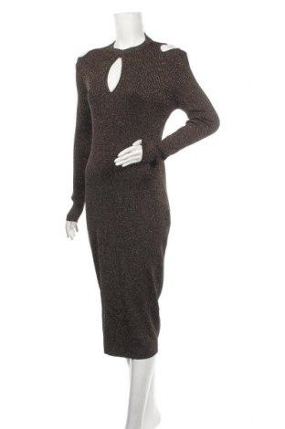 Φόρεμα Glamorous, Μέγεθος L, Χρώμα Χρυσαφί, 56% βισκόζη, 27% πολυαμίδη, 17% μεταλλικά νήματα, Τιμή 15,79€