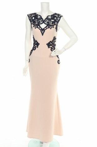 Φόρεμα Lipsy London, Μέγεθος M, Χρώμα  Μπέζ, 92% πολυεστέρας, 8% ελαστάνη, Τιμή 55,73€