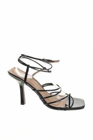Sandály Missguided, Velikost 40, Barva Černá, Eko kůže, Cena  302,00Kč