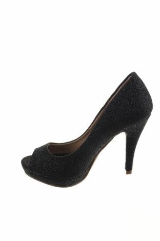 Γυναικεία παπούτσια Xti, Μέγεθος 36, Χρώμα Μαύρο, Κλωστοϋφαντουργικά προϊόντα, Τιμή 12,85€
