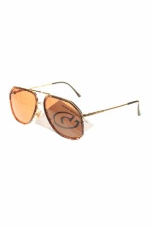 Слънчеви очила Calvin Klein, Цвят Златист, Цена 99,96лв.