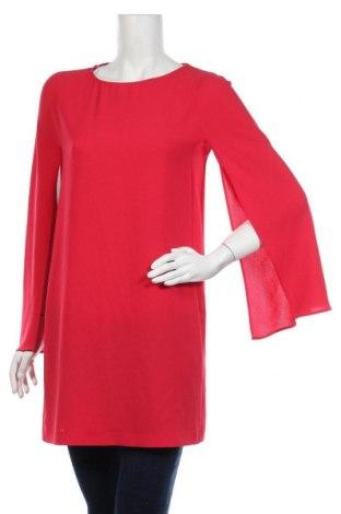Туника Zara, Размер S, Цвят Червен, Полиестер, Цена 28,56лв.