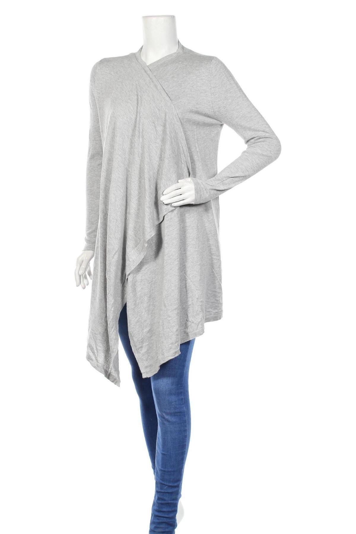 Дамска жилетка Top Secret, Размер S, Цвят Сив, 60% памук, 40% вискоза, Цена 15,87лв.