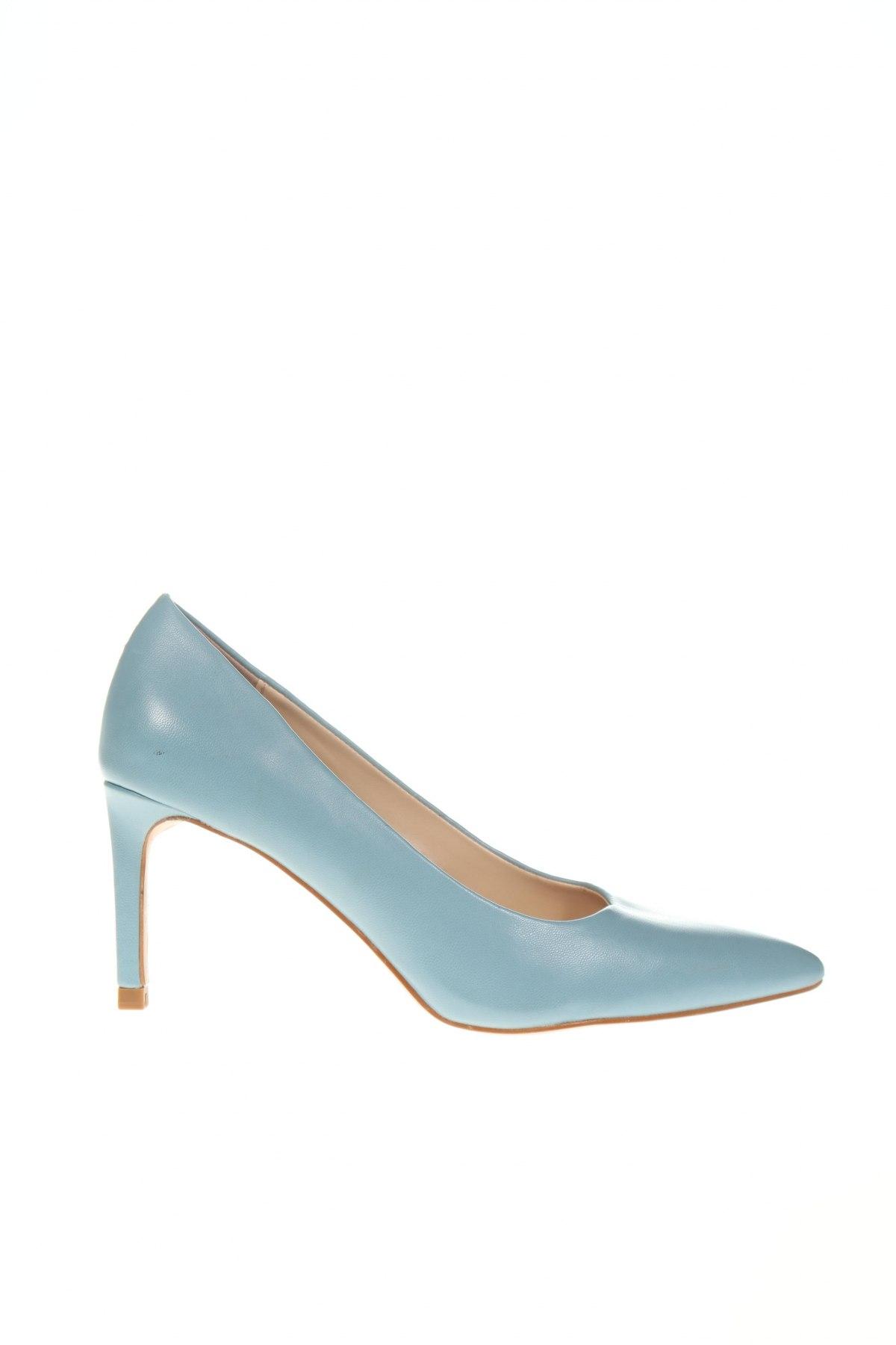 Дамски обувки Parfois, Размер 36, Цвят Син, Еко кожа, Цена 51,75лв.