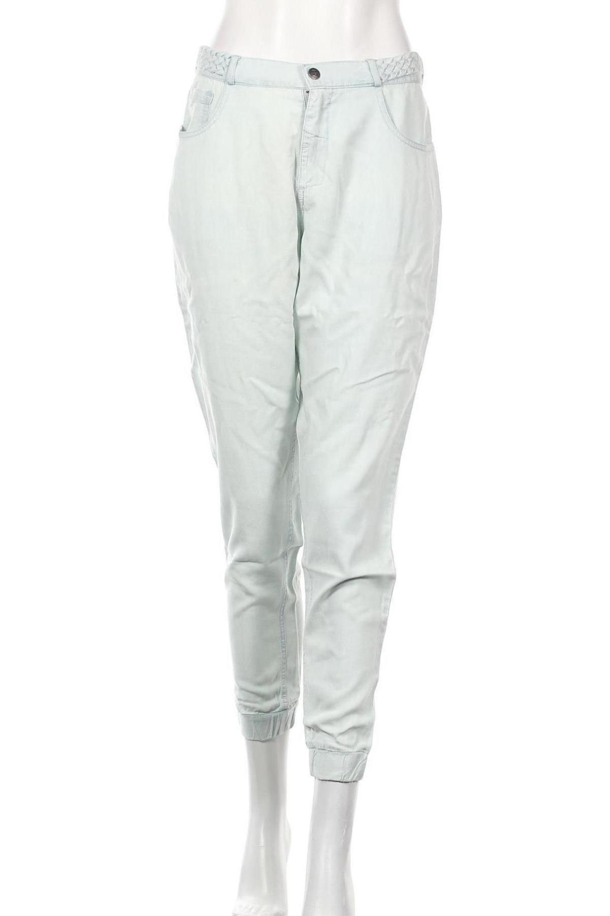 Дамски панталон Billabong, Размер L, Цвят Син, Лиосел, Цена 26,55лв.