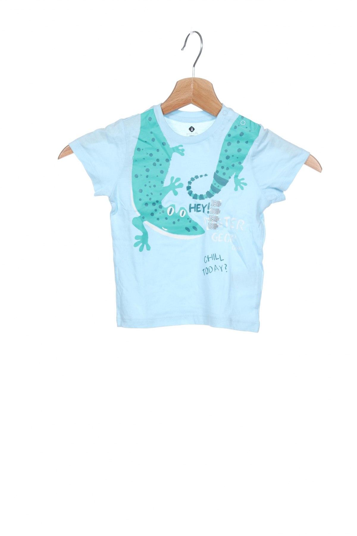 Παιδικό μπλουζάκι Grain De Ble, Μέγεθος 12-18m/ 80-86 εκ., Χρώμα Μπλέ, Βαμβάκι, Τιμή 7,92€